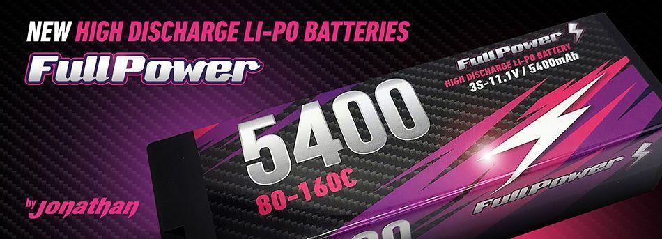Fullpower hardcase batteries