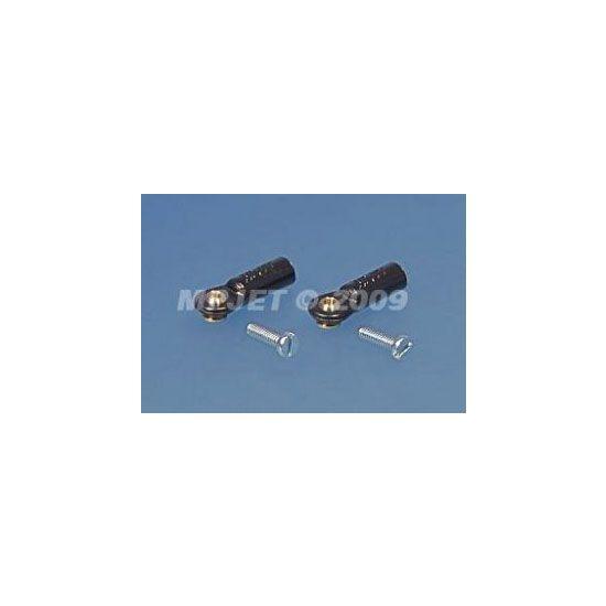 MP JET Uniball mini 2MA con vite 1,6 mm - tipo corto - 6 pz