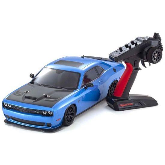 Kyosho Fazer MK2 Dodge Challenger SRT HELLCAT 1:10 Readyset Automodello elettrico