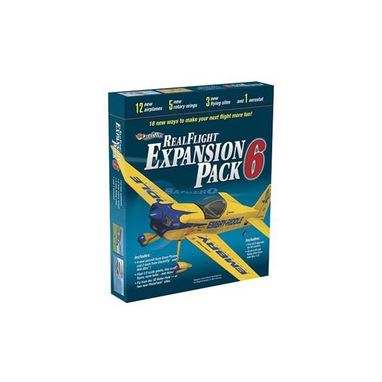GreatPlanes Real Flight G4 e G5 Expansion pack6