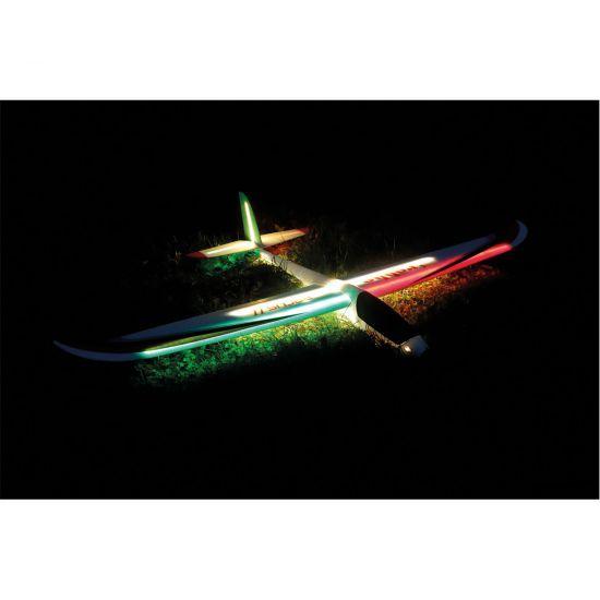 Robbe Arcus II Night PNP Aliante elettrico con luci