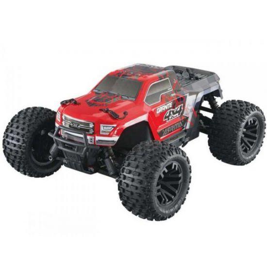 Arrma GRANITE 4x4 Mega Brushed Monster Truck RTR 1/10, Red/Black