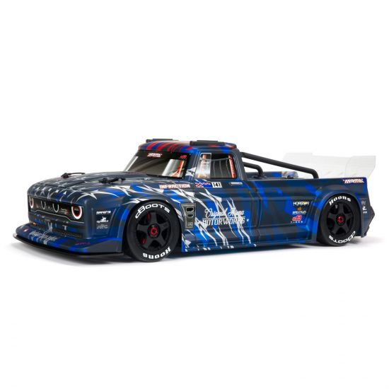 Arrma INFRACTION 1/7 6S BLX All-Road Truck RTR, Blue