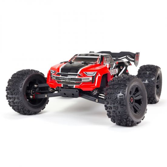 Arrma KRATON 6S V5 4WD BLX 1/8 Speed Monster Truck RTR Red