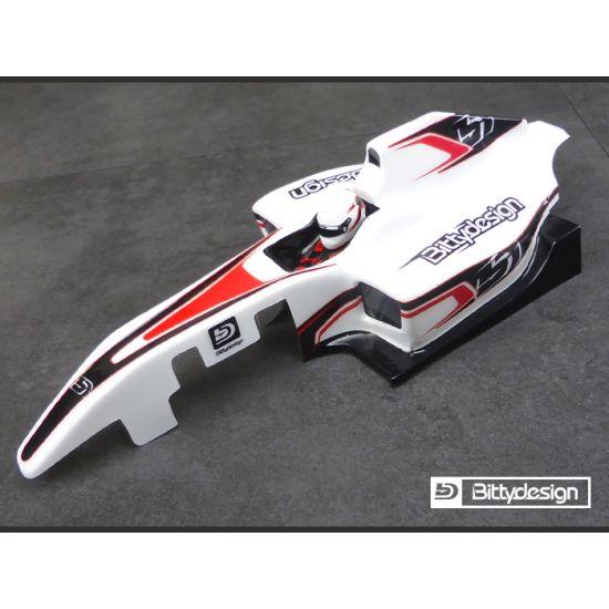 Bittydesign Carrozzeria 1/10 Formula1 TYPE-6R trasparente