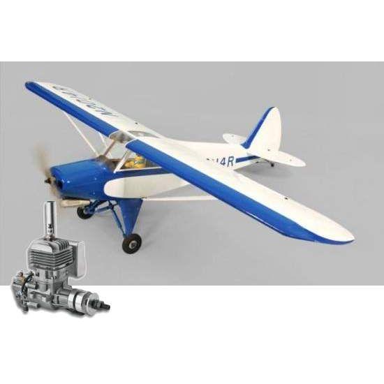 Phoenix Model Super Cub .120/22cc + DLE 20 Aeromodello riproduzione