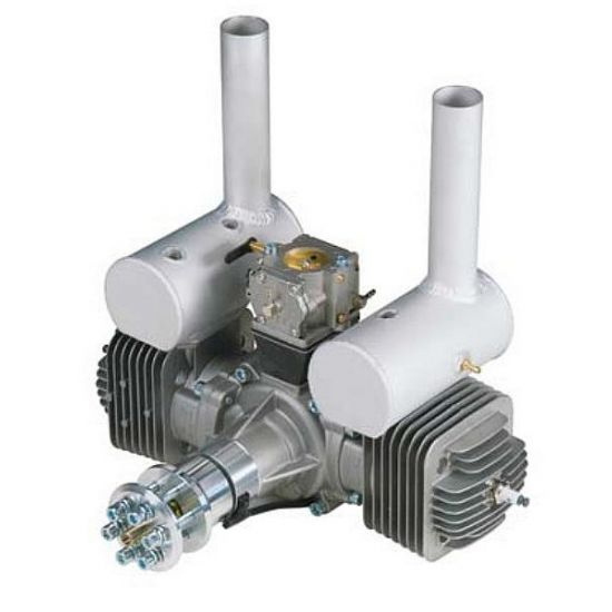DLE DLE-170 cc bicilindrico Motore a scoppio 2T BENZINA