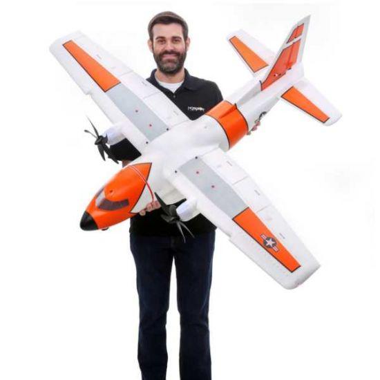 E-flite EC-1500 Twin 1.5m PNP Aeromodello riproduzione