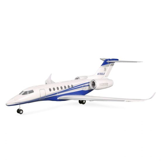 E-flite UMX Citation Longitude Twin 30mm EDF BNF Basic SAFE