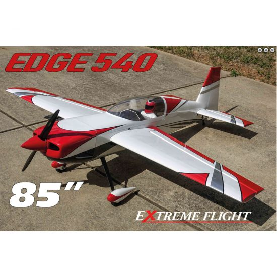 Extreme Flight Edge 540 85 Rosso/Bianco ARF - 216 cm Aeromodello acrobatico