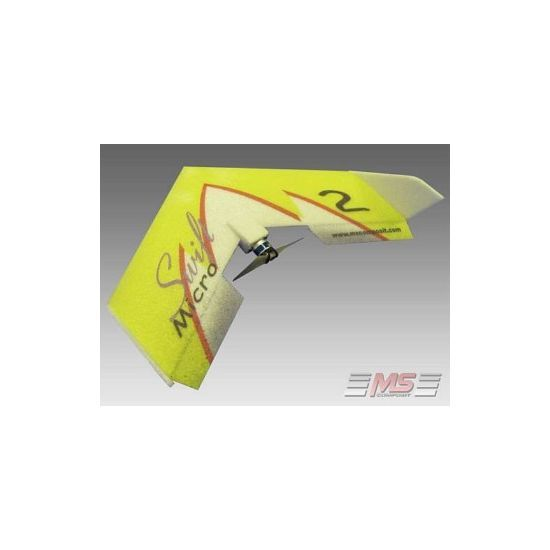 MS Composit Micro Swift - Yellow + Motore, servi, regolatore