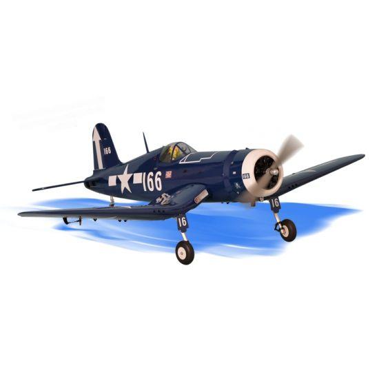 Phoenix Model F4U Corsair .91-120/22cc + carrelli elettrici - Aeromodello riproduzione