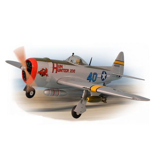 Phoenix Model P47 Thunderbolt 30cc + carrelli retrattili elettrici