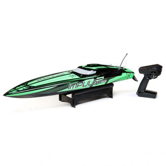 ProBoat Impulse 32 6S Brushless Black/Green RTR Barca elettrica