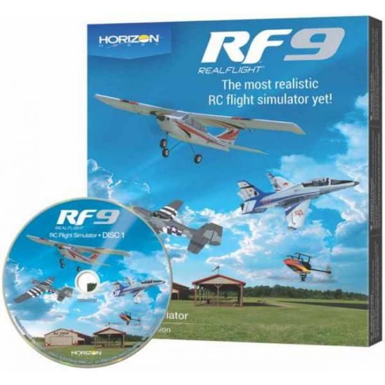 RealFlight RF 9 Software only Horizon Hobby Edition
