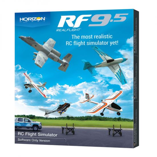 RealFlight RF 9.5 Software only Horizon Hobby Edition
