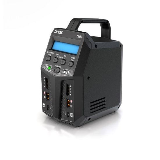 SkyRC T200 12/220V 2x100W 1-6S Caricabatterie