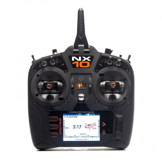 Spektrum NX10 DSMX solo TX Radiocomando 10CH