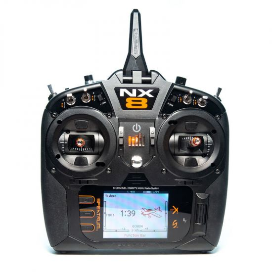 Spektrum NX8 DSMX solo TX Radiocomando 8CH