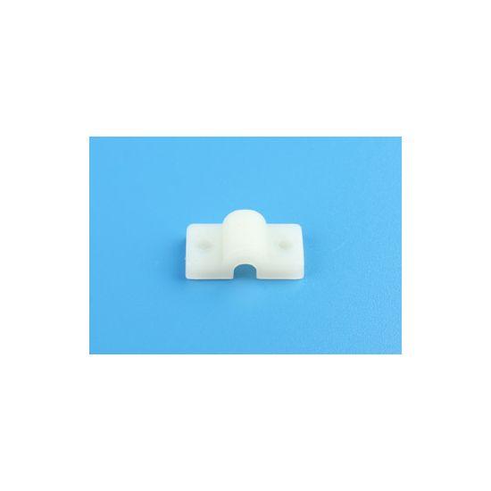 aXes Cavallotti bianchi fissaggio carrelli SINGOLO 5mm (5 pz)