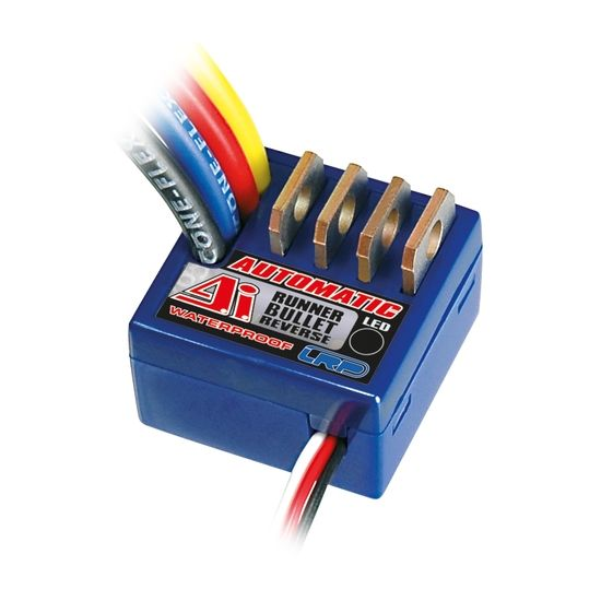 LRP Variatore spazzole per auto A.I. Runner Bullet 80A