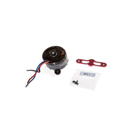 DJI S1000 Premium 4114 Motor with red Prop cover