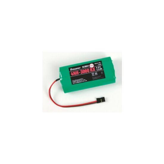 Graupner Batterie NiMH RX 4,8V 3000 mA