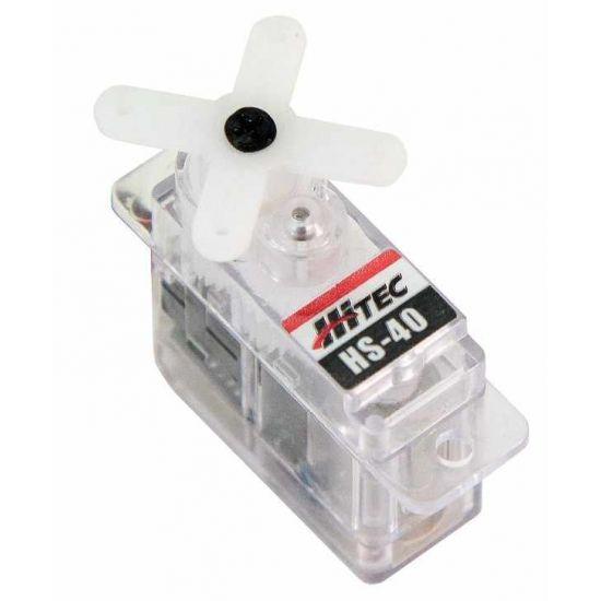 Hitec HS40 HB - 0,75 (6,0V)-0,10 (6,0V) Servocomando sub micro
