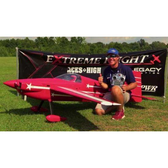 Extreme Flight Laser 200 Exp 104 ARF Aeromodello acrobatico
