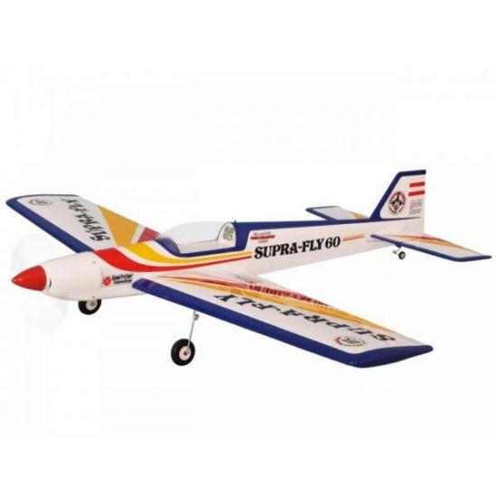 Pichler Modellbau Supra Fly 60 (rosso-giallo) / 1720 mm Aeromodello acrobatico