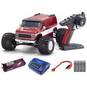 Kyosho Kyosho Mad Van VE 4WD FAZER MK2 1:10 Readyset SUPER COMBO FP