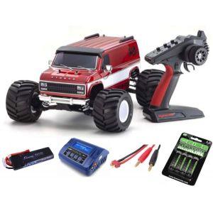 Kyosho Kyosho Mad Van VE 4WD FAZER MK2 1:10 Readyset SUPER COMBO
