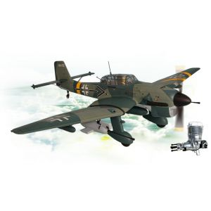 Phoenix Model Stuka Ju87 GP/EP 1:5 ¾ 60cc ARF + DLE 55 RA Aeromodello riproduzione