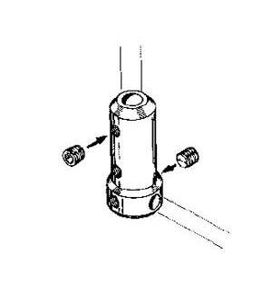 MP JET Angolo per gambe carrelli Ø 4 mm 1 pz