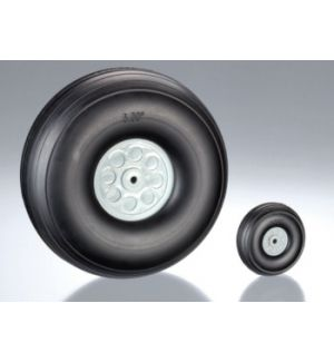 aXes 38mm rubber wheels (2pcs)