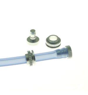 aXes Tappi alluminio rifornimento e sfiato 2 pz.