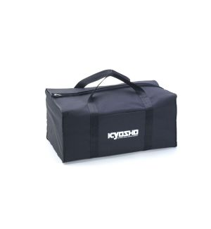 Kyosho Borsa porta auto 1/8 in tela nera - 320x560x220mm