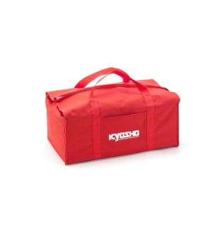 Kyosho Borsa porta auto 1/8 in tela rossa - 320x560x220mm