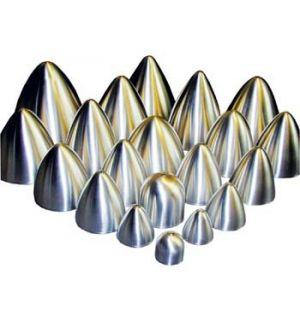 KS Ogiva alluminio ø 90x92 mm con vite 5 MA
