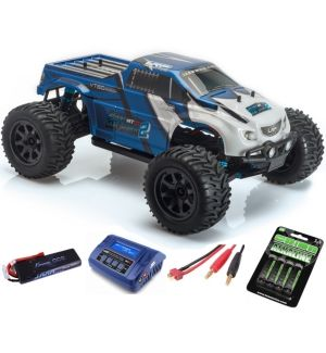 LRP S10 Blast MT 2 Brushless RTR 2.4GHz - 1/10 4WD Electric Monstertruck SUPER COMBO