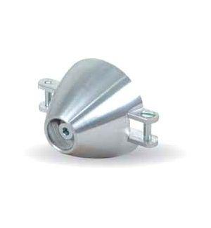 TopmodelCZ Ogiva alluminio 40 mm asse Ø 6 (spess. 8 mm)