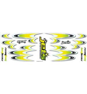 Jets Decals RACING TEAM YELLOW