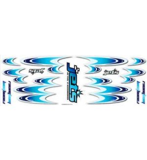 Jets Decals RACING TEAM BLUE