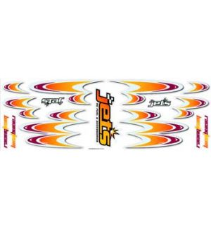 Jets Decals RACING TEAM ORANGE