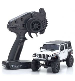 Kyosho Mini-Z 4X4 MX-01 Jeep Wrangler Rubicon Bright White (KT531P)