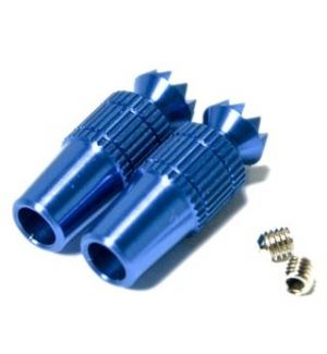 Secraft Transmitter Stick Ends V1 M4 BLUE