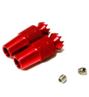 Secraft Transmitter Stick Ends V1 M4 RED