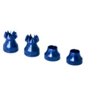 Secraft Transmitter Stick Ends V2 M3 BLUE