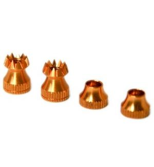 Secraft Transmitter Stick Ends V2 M3 GOLD