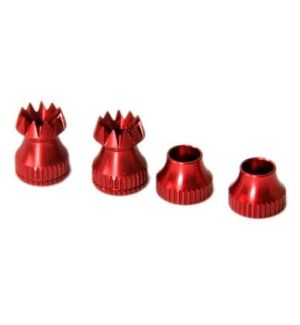 Secraft Transmitter Stick Ends V2 M4 RED